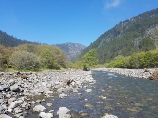 Clear water for Lost Coast Adventure Tours