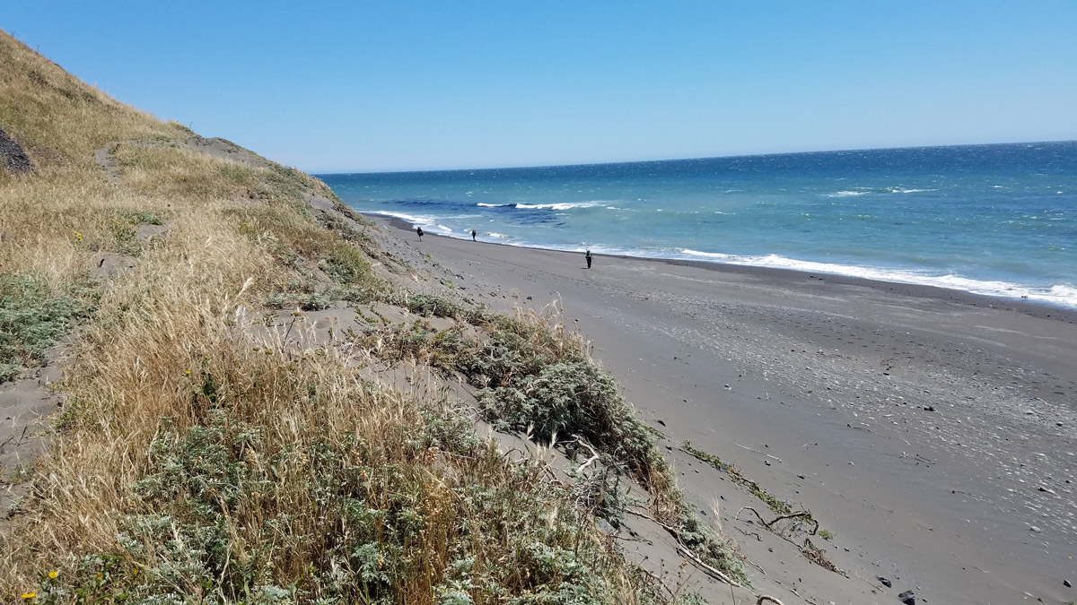 Hiking with the Lost Coast Adventure Tours