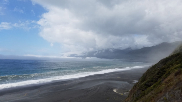 Cloudy Ocean on Lost Coast Adventure Tours