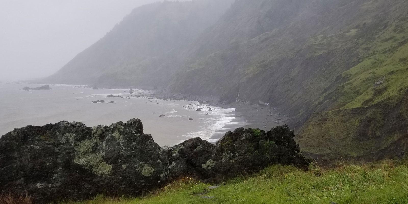 Lost Coast Trail Saddle Mountain Summit to Sea Hike